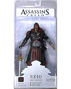 NECA PLAYER SELECT ASSASSIN'S CREED BROTHERHOOD EZIO [EBONY ASSASSIN]