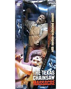 McFARLANE MOVIE MANIACS 4 18インチ THE TEXAS CHAINSAW MASSACRE LEATHERFACE