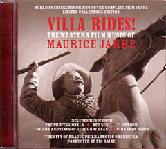 VILLA RIDES! - THE WESTERN FILM MUSIC OF MAURICE JARRE 戦うパンチョ・ビラ