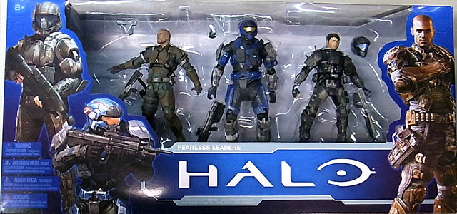 McFARLANE HALO: ANNIVERSARY SERIES 1 3PACK FEARLESS LEADERS