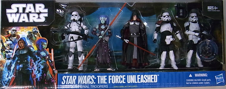 HASBRO STAR WARS USA TOYSRUS限定 STAR WARS: THE FORCE UNLEASHED 5PACK