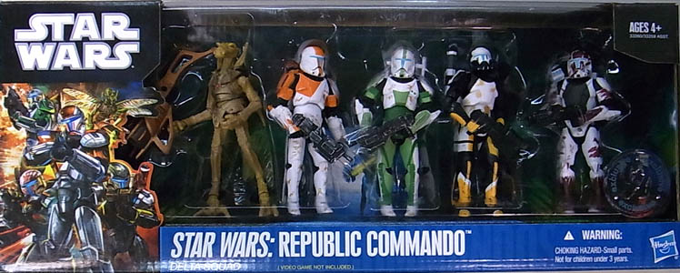 HASBRO STAR WARS USA TOYSRUS限定 STAR WARS: REPUBLIC COMMANDO 5PACK