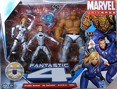 HASBRO MARVEL UNIVERSE 4PACK VARIANT FANTASTIC 4 [FUTURE FOUNDATION]