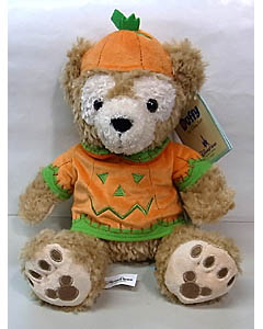 DISNEY USAディズニーテーマパーク限定 DUFFY THE DISNEY BEAR 12INCH HALLOWEEN DUFFY