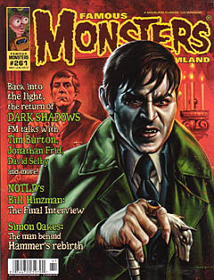 FAMOUS MONSTERS OF FILMLAND #261 [THE DARK SHADOW COVER]
