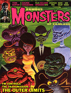 FAMOUS MONSTERS OF FILMLAND #261 [THE OUTER LIMITS COVER]