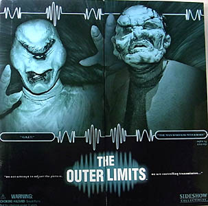 SIDESHOW 12インチ THE OUTER LIMITS [O.B.I.T.] HELOSIAN & [THE MAN WHO WAS NEVER BORN] ANDRO 開封未使用品特価
