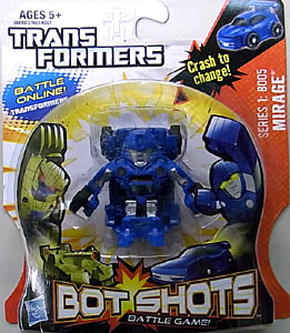 HASBRO TRANSFORMERS BOT SHOTS MIRAGE