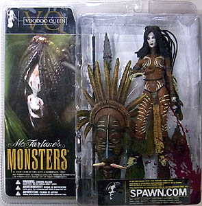 McFARLANE McFARLANE'S MONSTERS VOODOO QUEEN [血飛沫パッケージ・国内版]