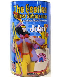 POLAR LIGHTS 1/8スケール THE BEATLES YELLOW SUBMARINE JOHN LENNON 塗装済み組み立て式プラモデル