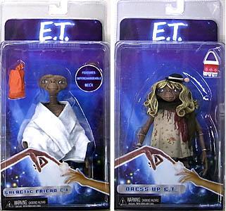 NECA E.T. 7インチアクションフィギュア シリーズ1 2種セット