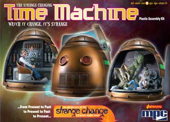 MPC STRANGE CHANGE TIME MACHINE 組み立て式プラモデル パッケージ傷み特価