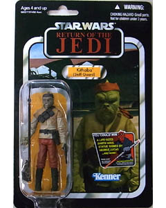 HASBRO STAR WARS 2012 THE VINTAGE COLLECTION KITHABA (SKIFF GUARD) [RETURN OF THE JEDI] 台紙傷み特価