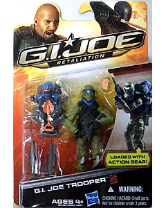 HASBRO 映画版 G.I. JOE: RETALIATION シングル G.I. JOE TROOPER [BLUE HELMET]
