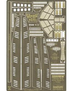 PARAGRAFIX メビウスモデル 全長:約96センチ 映画版 原子力潜水艦シービュー号用 エッチングパーツ / PGX160