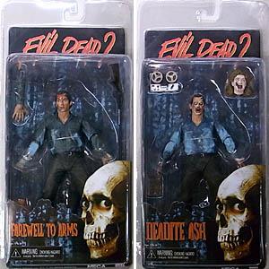 NECA EVIL DEAD II 7インチアクションフィギュア SERIES 1 2種セット