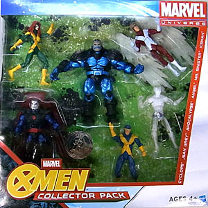 HASBRO MARVEL UNIVERSE USA TOYSRUS限定 X-MEN COLLECTOR PACK パッケージ傷み特価