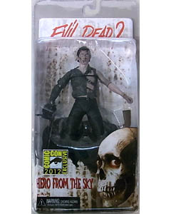 2012年サンディエゴ・コミコン限定 NECA EVIL DEAD II 7インチアクションフィギュア HERO FROM THE SKY