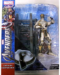 DIAMOND SELECT MARVEL SELECT 映画版 THE AVENGERS CHITAURI FOOTSOLDIER