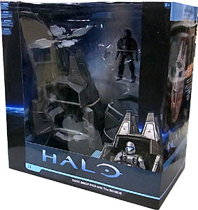McFARLANE HALO UNIVERSE ODST DROP POD WITH THE ROOKIE