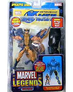 TOYBIZ MARVEL LEGENDS 12 APOCALYPSE SERIES WOLVERINE [BUILD PARTS VARIANT]