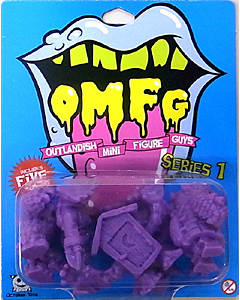OCTOBER TOYS OMFG SERIES 1 PURPLE