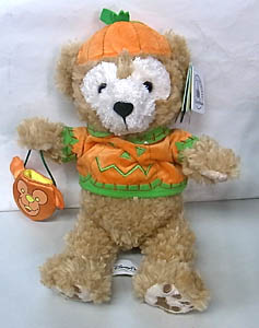 DISNEY USAディズニーテーマパーク限定 DUFFY THE DISNEY BEAR 9INCH HALLOWEEN DUFFY THE DISNEY BEAR