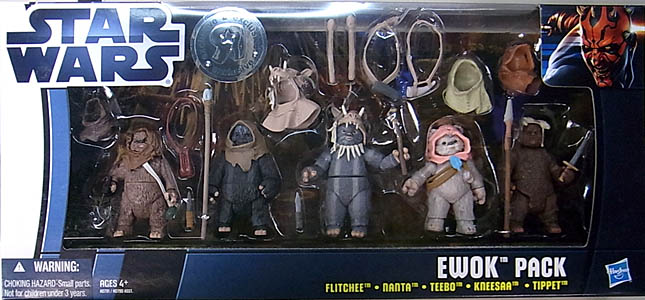 HASBRO STAR WARS USA TOYSRUS限定 EWOK PACK