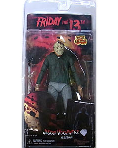 NECA FRIDAY THE 13TH 7インチアクションフィギュア SERIES 1 PART 3 JASON VOORHEES [BATTLE DAMAGED]
