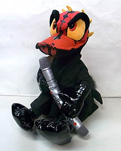 STAR WARS USA ディズニーテーマパーク限定 DONALD DUCK AS DARTH MAUL PLUSH