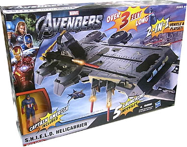 HASBRO 映画版 THE AVENGERS ビークル MOVIE SERIES S.H.I.E.L.D. HELICARRIER