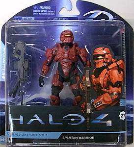 McFARLANE HALO 4 SERIES 1 SPARTAN WARRIOR [RED]