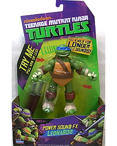 PLAYMATES NICKELODEON TEENAGE MUTANT NINJA TURTLES POWER SOUND FX LEONARDO