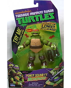 PLAYMATES NICKELODEON TEENAGE MUTANT NINJA TURTLES POWER SOUND FX MICHELANGELO