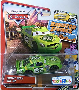 MATTEL CARS USA TOYSRUS限定 RADIATOR SPRINGS CLASSIC シングル SHINY WAX NO.82