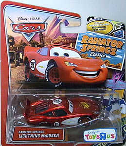 MATTEL CARS USA TOYSRUS限定 RADIATOR SPRINGS CLASSIC シングル RADIATOR SPRINGS LIGHTNING McQUEEN