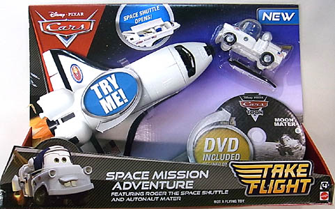 MATTEL CARS TAKE FLIGHT SPACE MISSION ADVENTURE