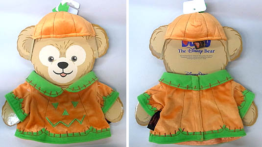 DISNEY USAディズニーテーマパーク限定 DUFFY THE DISNEY BEAR COSTUME [DUFFY THE DISNEY BEAR PUMPKIN HALLOWEEN COSTUME]