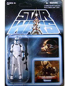 HASBRO STAR WARS 2012 THE VINTAGE COLLECTION CLONE TROOPER LIEUTENANT [BLUE CARD EPEP202] ブリスター傷み特価