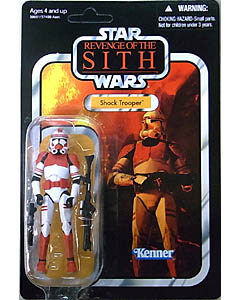 HASBRO STAR WARS 2012 THE VINTAGE COLLECTION SHOCK TROOPER [REVENGE OF THE SITH]