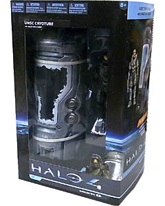 McFARLANE HALO 4 SERIES 1 DX UNSC CRYOTUBE WITH MASTER CHIEF
