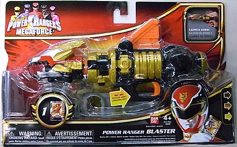 USA BANDAI POWER RANGERS MEGAFORCE POWER RANGER BLASTER