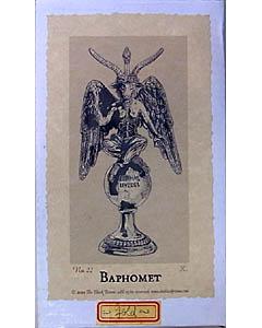 BAPHOMET 悪魔像 コールドキャスト スタチュー [SMALL]
