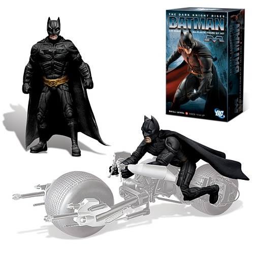 メビウスモデル 1/25スケール バットマン ダークナイトライジング バットマン 組み立て式プラモデル