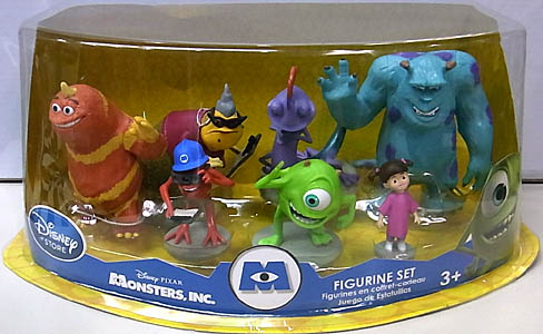 USA DISNEY STORE 限定 FIGURINE SET MONSTERS, INC.