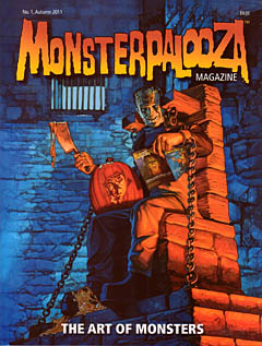MONSTERPALOOZA MAGAZINE NO.1 AUTUMN 2011