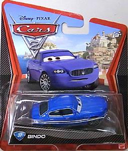 MATTEL CARS2 シングル BINDO