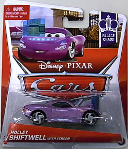 MATTEL CARS 2013 シングル HOLLEY SHIFTWELL WITH SCREEN