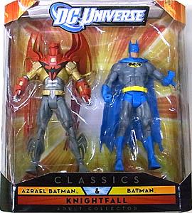 MATTEL DC UNIVERSE CLASSICS 2PACK AZRAEL BATMAN & BATMAN パッケージ傷み特価
