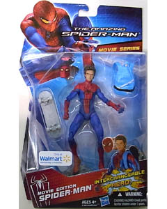HASBRO 映画版 THE AMAZING SPIDER-MAN USA WALMART限定 6インチ MOVIE SERIES MOVIE EDITION SPIDER-MAN [UNMASKED] 台紙傷み特価